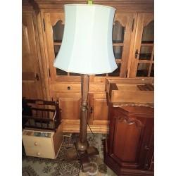 Lampa podłogowa dębowa